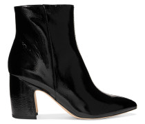 Hilty Ankle Boots aus Lackleder