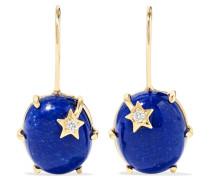 Mini Galaxy Star Ohrringe aus 18 Karat