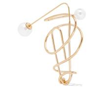 Vereter Ohrring mit Kunstperlen