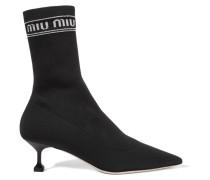 Sock Boots aus Stretch-strick
