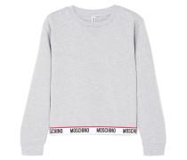 Sweatshirt aus Stretch-baumwoll-jersey