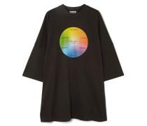 Bedrucktes T-shirt aus Baumwoll-jersey in Oversized-passform