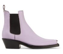 Claire Ankle Boots aus Strukturiertem Leder
