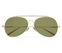 Spitfire Verspiegelte Pilotensonnenbrille