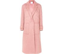 Mantel aus einer Mohairmischung