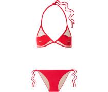+ Charlotte Olympia Pin-up Kiss Triangel-bikini