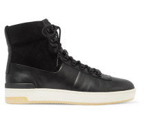 Rowan High-top-sneakers aus Leder und Veloursleder