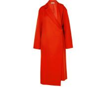 Mantel aus einer Wollmischung
