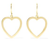 Open Heart Ohrringe aus 18 Karat