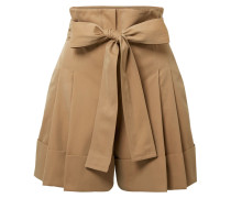 Shorts aus Baumwoll-gabardine