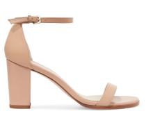 Nearlynude Sandalen aus Leder
