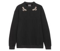 Daria Verzierter Pullover aus Baumwoll-jersey