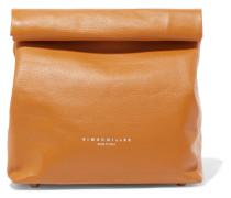 Lunchbag 20 Clutch aus Strukturiertem Leder