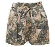 Alex Bedruckte Shorts aus Seidensatin
