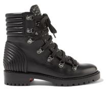 Mad Ankle Boots aus Gestepptem Leder