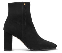 Solo Ankle Boots aus Stretch-veloursleder