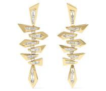 Shattered Ohrringe aus 18 Karat  mit Diamanten