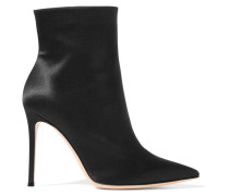 Arles 100 Ankle Boots aus Satin
