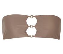 Ace Bandeau-bikini-oberteil mit Verzierungen