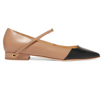 Lorenzo Zweifarbige Flache Schuhe