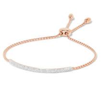 Stellar Pave Mini Bar Armband aus -vermeil