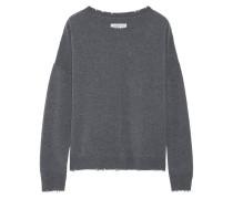 The Destroyed Knit Pullover aus einer Woll-kaschmirmischung