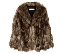 Cape aus Faux Fur