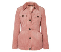 Jacke aus Cord aus einer Baumwollmischung