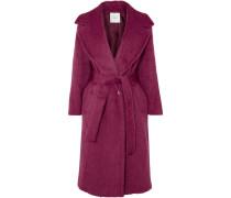 Mantel aus einer Alpaka-wollmischung