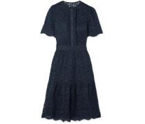 Lunar Kleid aus Schnurgebundener Spitze aus einer Baumwollmischung