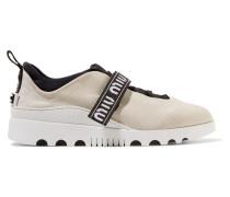 Sneakers aus Neopren und Gummi