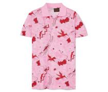 + Paula's Ibiza Bedrucktes Polohemd aus Baumwoll-piqué