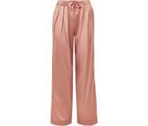Pyjama-hose aus Seidensatin