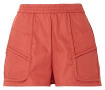 Prim Shorts aus Baumwoll-twill