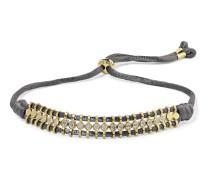 Armband mit Details aus 18 Karat  und Diamanten