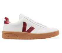 V-12 Sneakers aus Leder