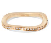 Petite Ocean Ring aus 18 Karat  mit Diamanten
