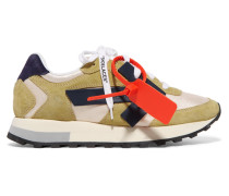 Hg Runner Sneakers aus Veloursleder und Shell