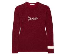 Forever Pullover aus einer Metallic-wollmischung