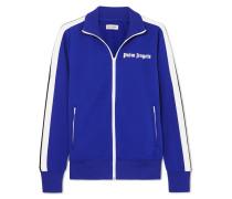 Trainingsjacke aus Glänzendem Jersey
