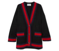 Cardigan aus Tweed aus einer Baumwollmischung