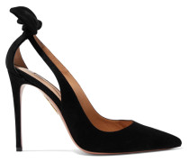 Deneuve 105 Pumps aus Veloursleder