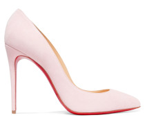 Pigalle Follies 100 Pumps aus Veloursleder