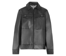 Jacke aus Mattem Tpu