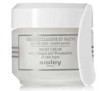Night Cream With Collagen And Woodmallow, 50 Ml – Nachtcreme
