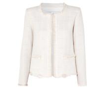Wondrous Jacke aus Bouclé aus einer Baumwollmischung in Distressed-optik