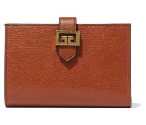 Gv3 Portemonnaie aus Strukturiertem Leder