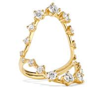 Brilliant Ring aus 18 Karat  mit Diamanten