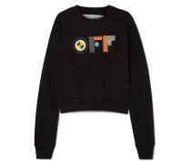 Bedrucktes Sweatshirt aus Baumwoll-jersey