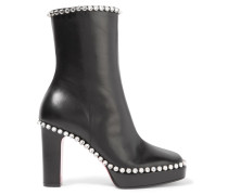Olympia Ankle Boots aus Leder